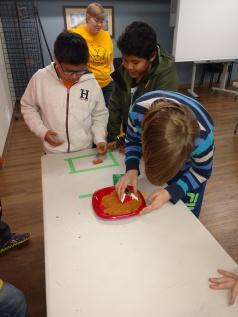 Testing the Lego crane