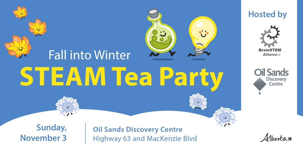 OSDC 2019 Fall Winter STEAM Tea Eventbrite Banner
