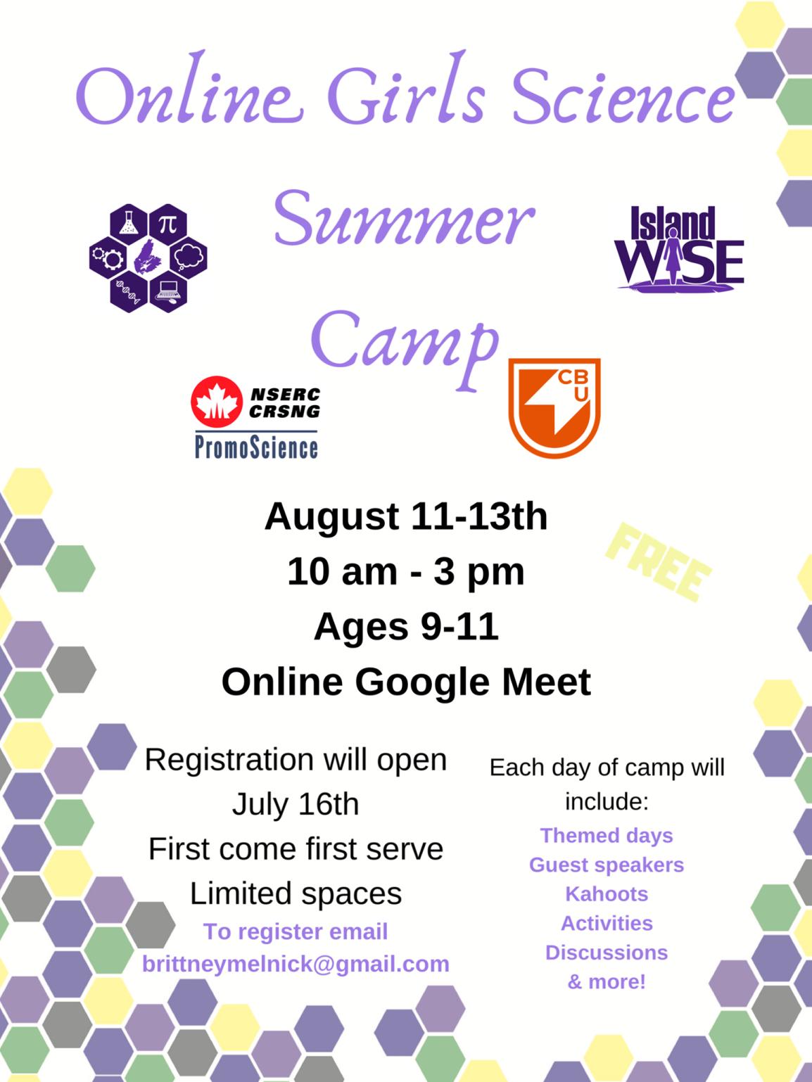 2020 Island WISE Virtual SummerCamp