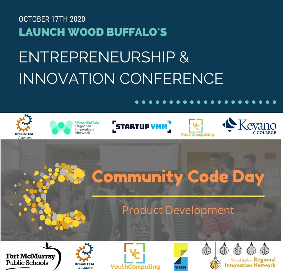 2020 Launch Wood Buffalo and Community CodeDay