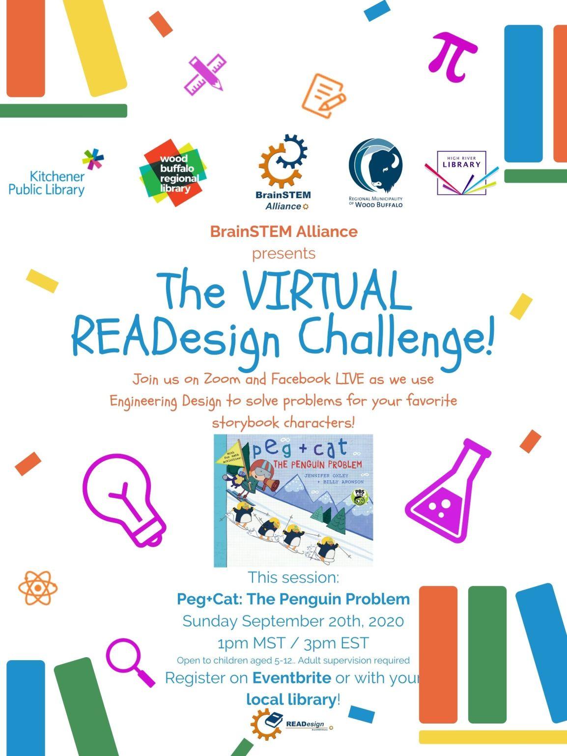 2020 Virtual READesign – Peg+Cat The PenguinProblem